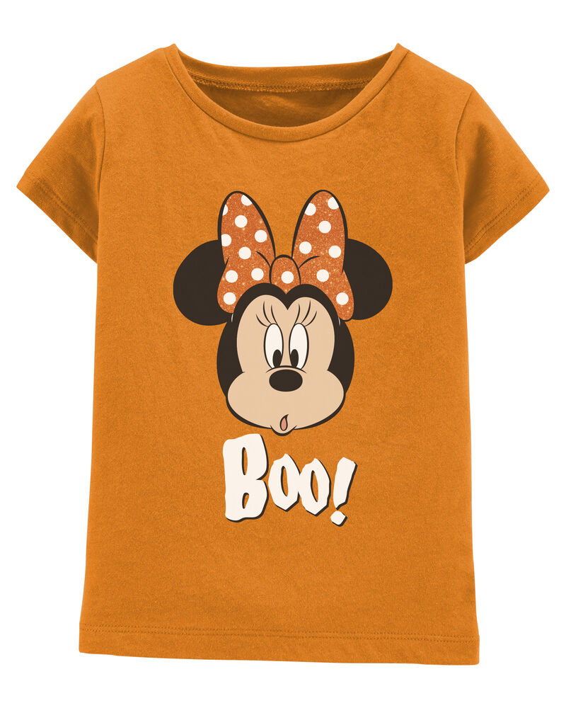 Glow Halloween Minnie Mouse Tee, , hi-res