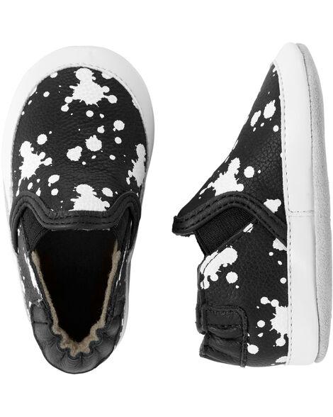 Chaussures souples à éclaboussures de peinture Liam