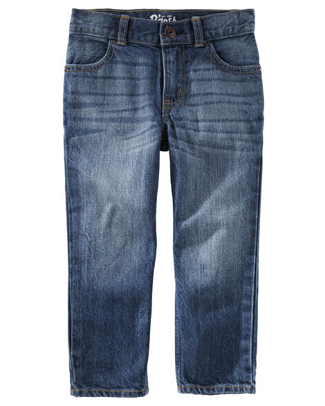 Straight Jeans - Authentic Tinted Wash