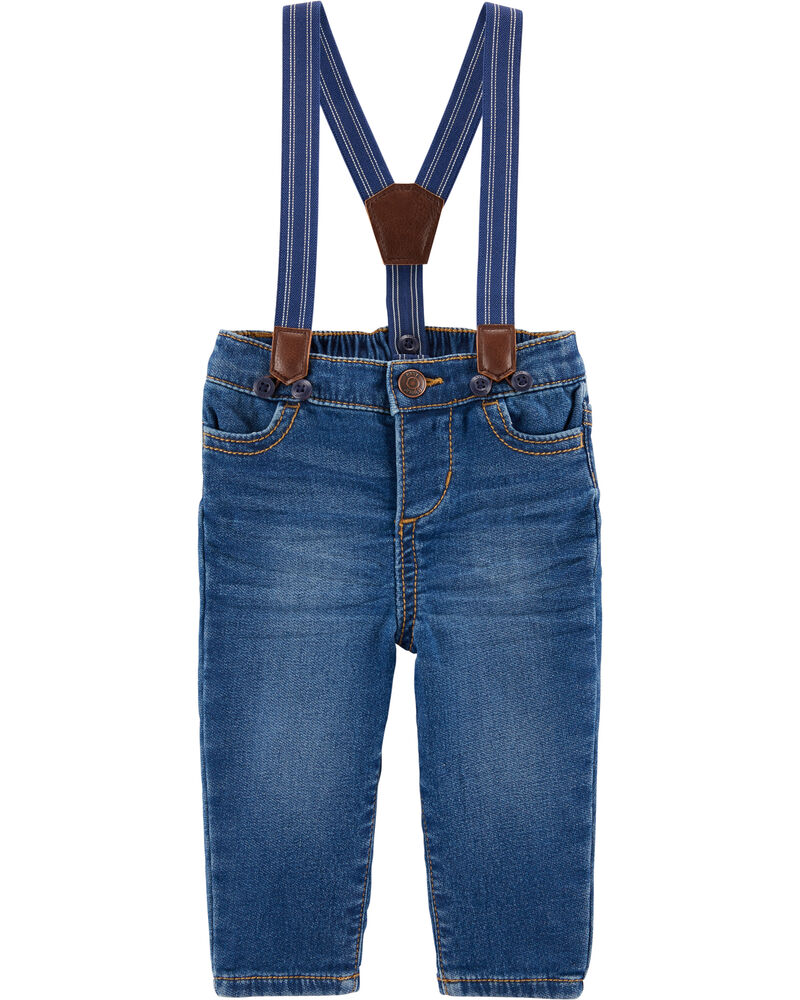 Suspender Jeans, , hi-res