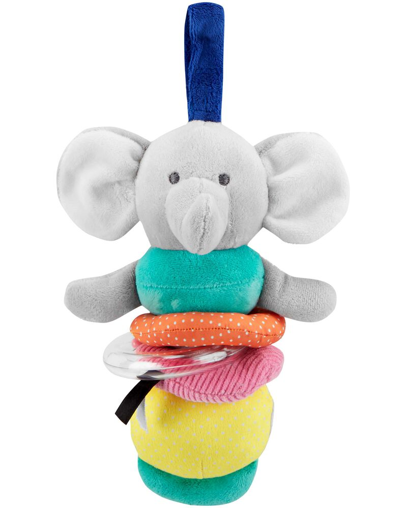 Elephant Baby Rattle, , hi-res