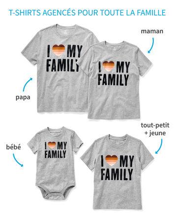 T-shirts Amour pour toute la famill...
