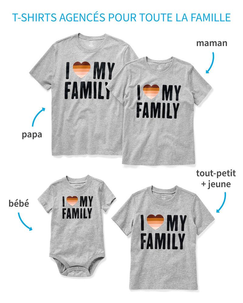 T-shirts Amour pour toute la famille, , hi-res