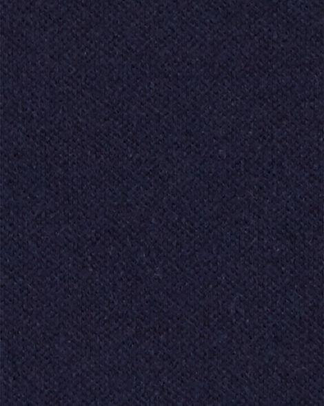 Polo d'uniforme scolaire en piqué extensible