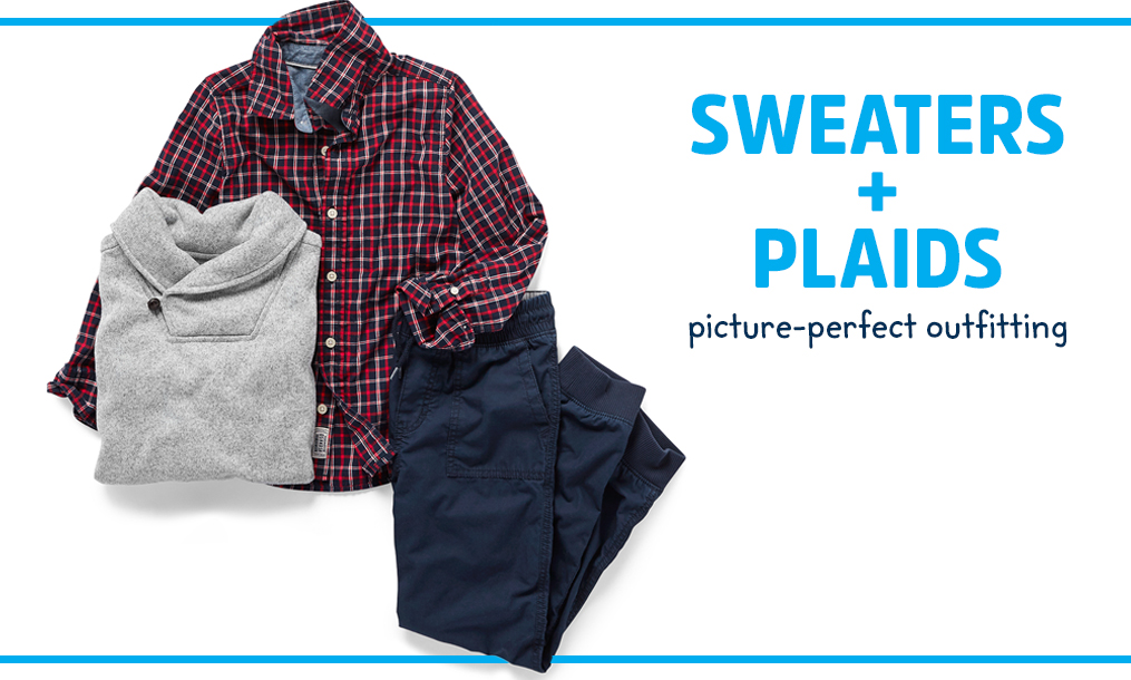 SWEATERS + PLAIDS | picture-perfect outfitting