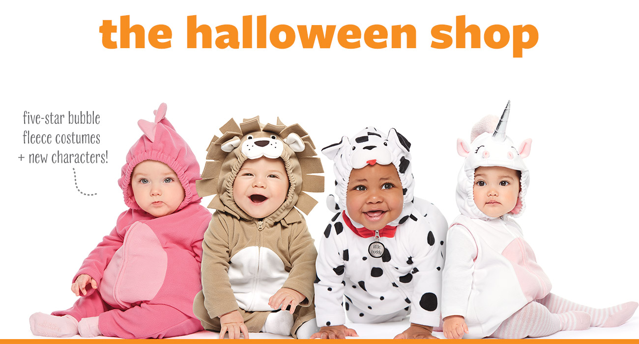 7445812e9 The Halloween Shop - Five-star Bubble Fleece Costumes + New Characters! Sc  1 St Carteru0027s | OshKosh. image number 6 of halloween costumes carters  ...