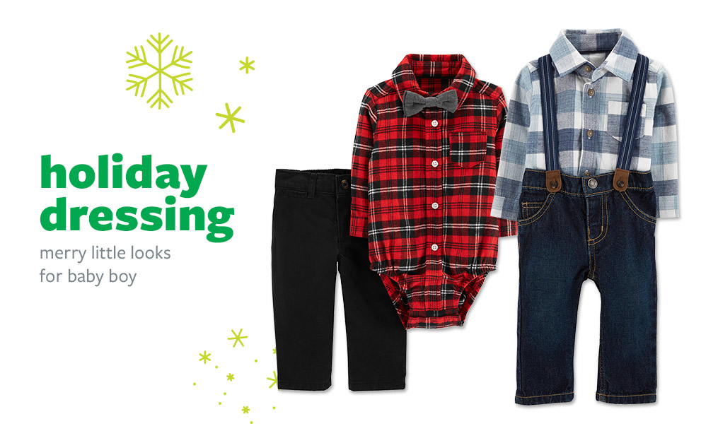 holiday dressing | merry little looks for baby boy