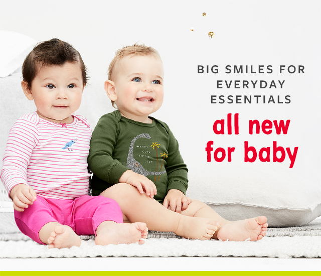 big smiles for everyday essentials all new for baby