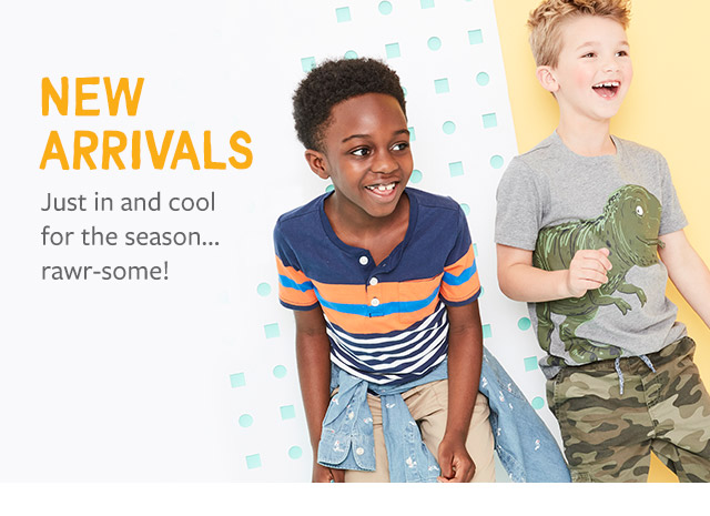 new arrivals | just in and cool for the season...rawr-some!