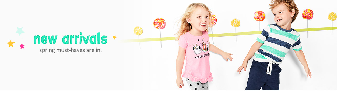 New arrivals spring must-haves are in!