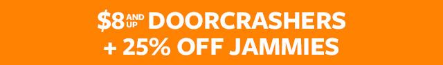 spooky cute fall sale | $8 doorcrashers + 25% off jammies