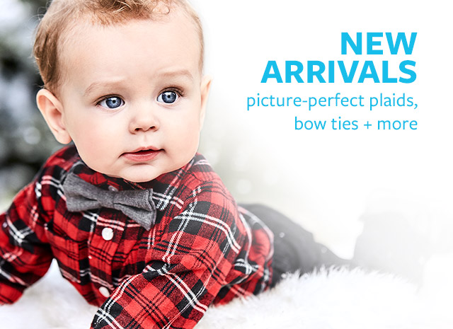 NEW ARRIVALS | picture-perfect plaids, bow ties + more