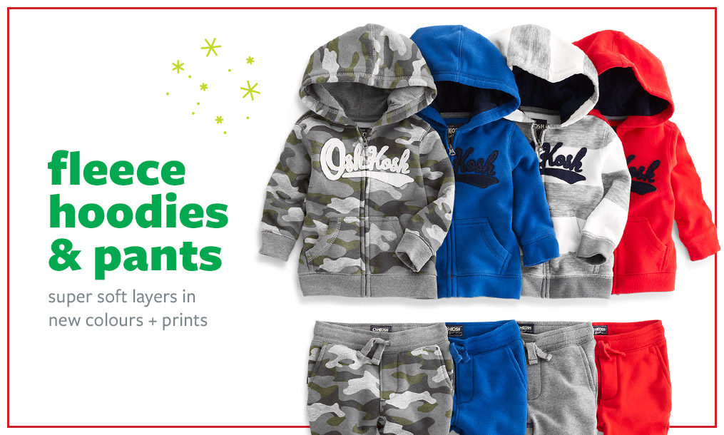 fleece hoodies & pants | super soft layers in new colours + prints
