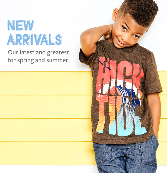 New Arrivals | our latest and greatest for spring and summer.