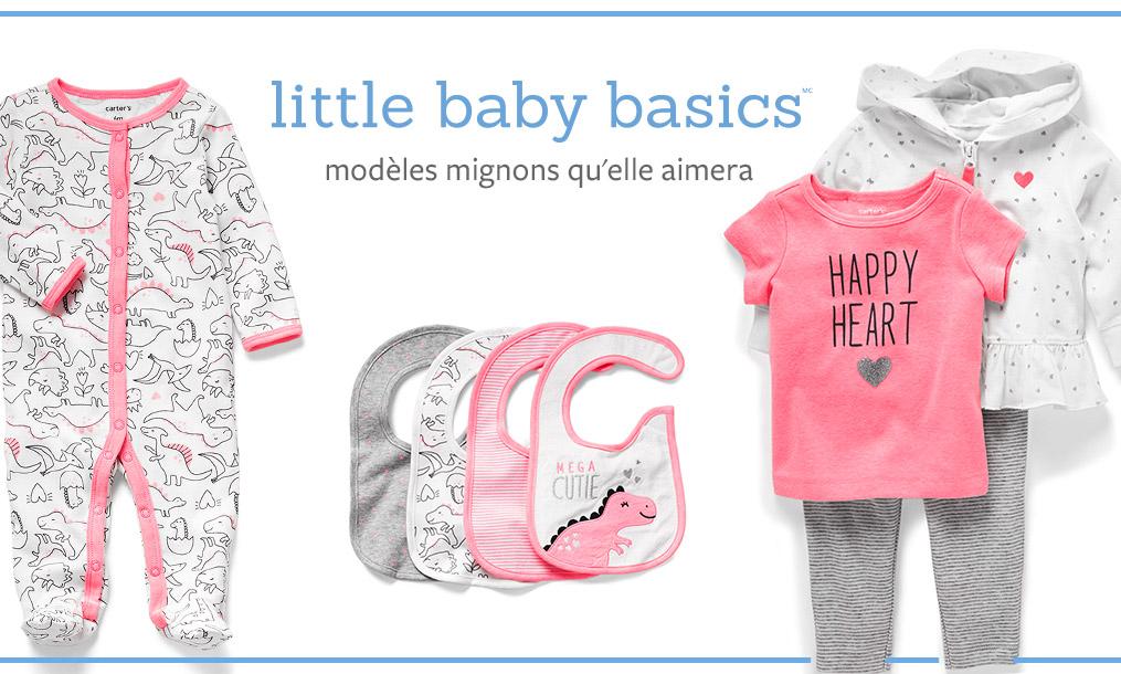 little baby basics modéles mignons qu'elle aimera