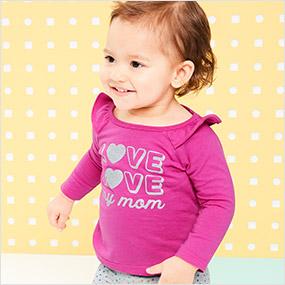 3e6deb62b1db Baby Girl Clothes | Carter's OshKosh Canada