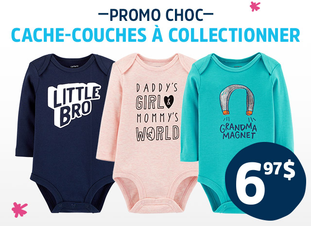 PROMO CHOC CACHE-COUCHES A COLLECTIONNER