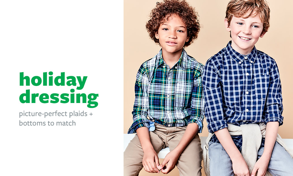 holiday dressing   picture-perfect plaids + bottoms to match