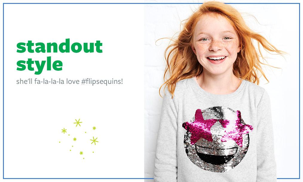 standout style | she'll fa-la-la-la love # flipsequins!