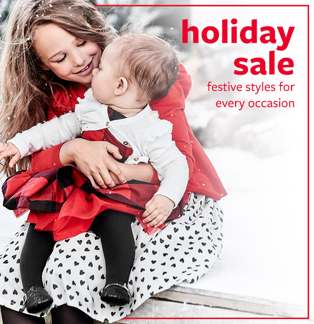 Holiday sale | festive styles for every occasion