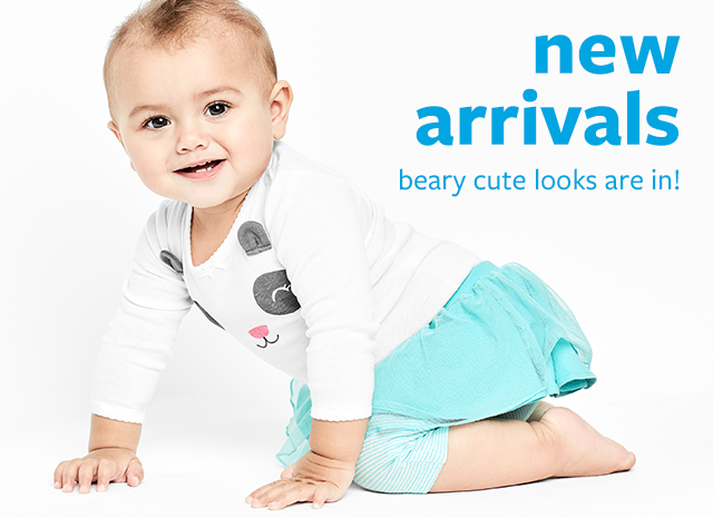 new arrivals | beary cute looks are in!