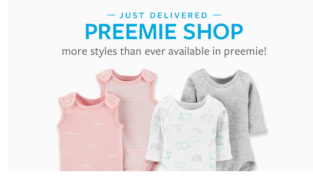 | Just delivered! preemie shop | the original bodysuit, sleep & play more styles than ever available in preemie!