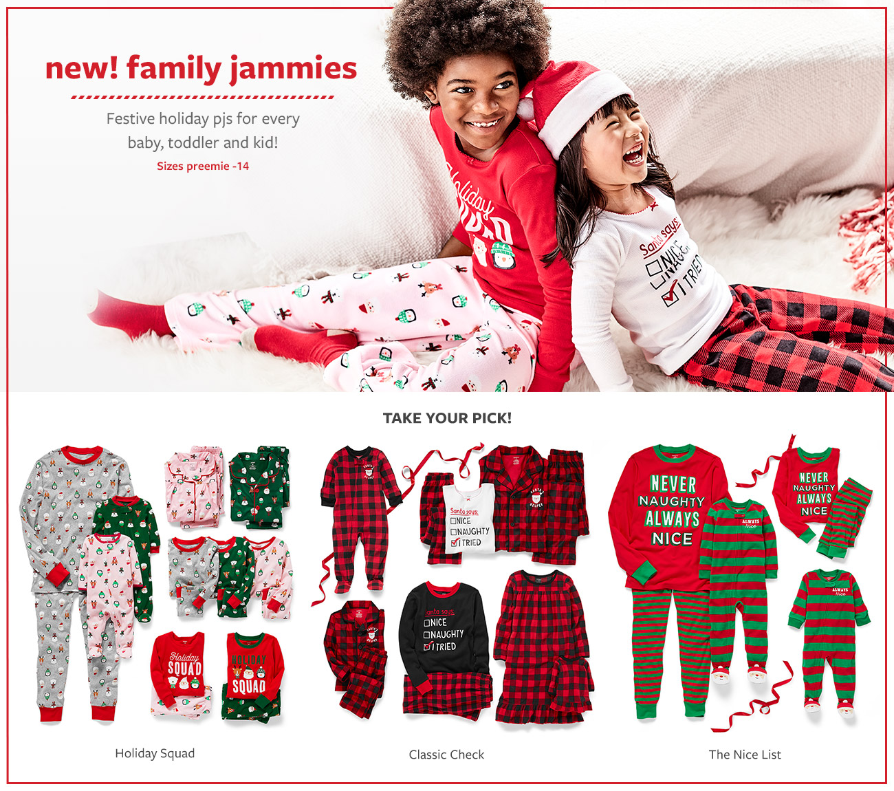 the best gift of all   Sweet babies at Christmas! Now we just need a sleigh for all the cute bodysuits, sets + hats! Sizes preemie-24 month
