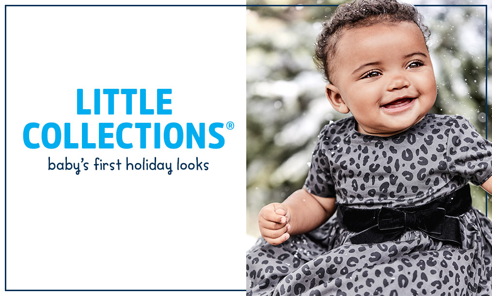 LITTLE COLLECTIONS | baby's first holiday looks