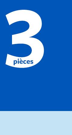 3 pièces