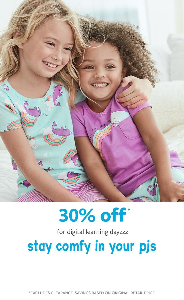 30% off canada's favourite pyjamas