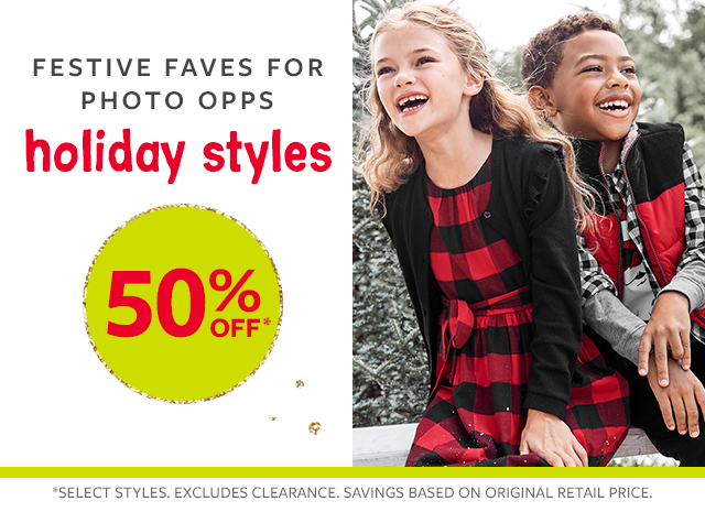 festive faves for photo styles 50% off