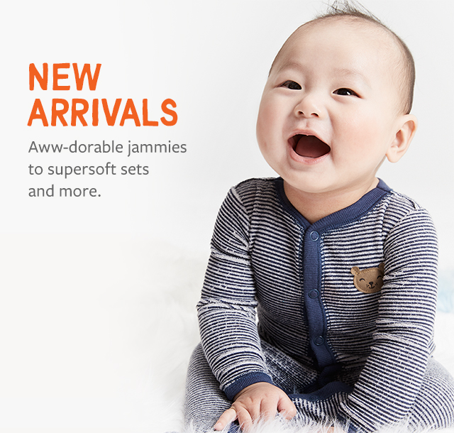 New Arrivals | aww-dorable jammies to supersoft sets and more.
