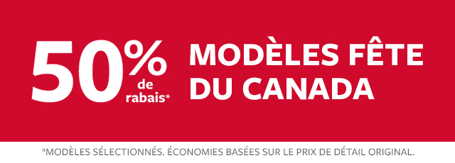 50% modèles fête du canada