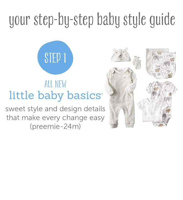 Step 1 - Little Baby Basics