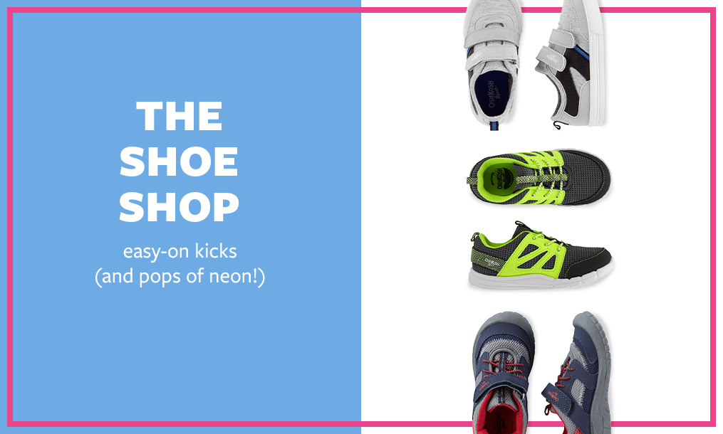 the shoe shop | easy-on kicks ( and pops of neon!)