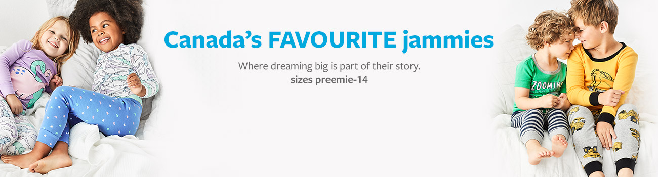 destination dreamland - Canada's favourite jammies