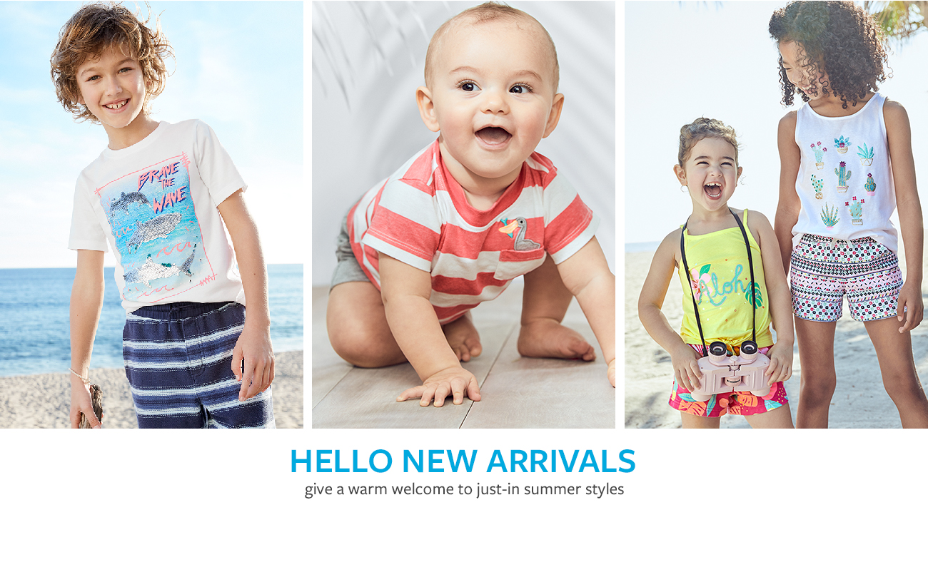 Hello new arrivals | give a warm welcome to just-in summer styles