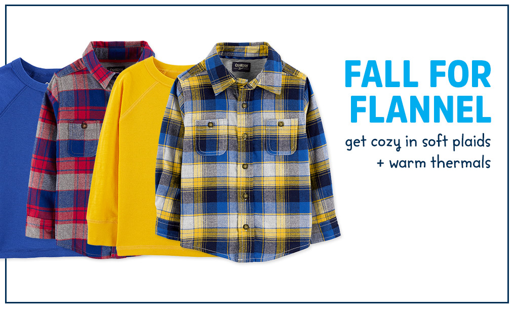 fall for flannel