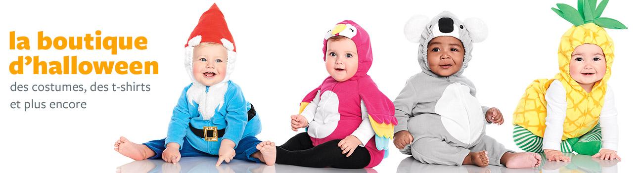 LA BOUTIQUE D'HALLOWEEN | des costumes trop mignons pour fêter son tout premier Halloween