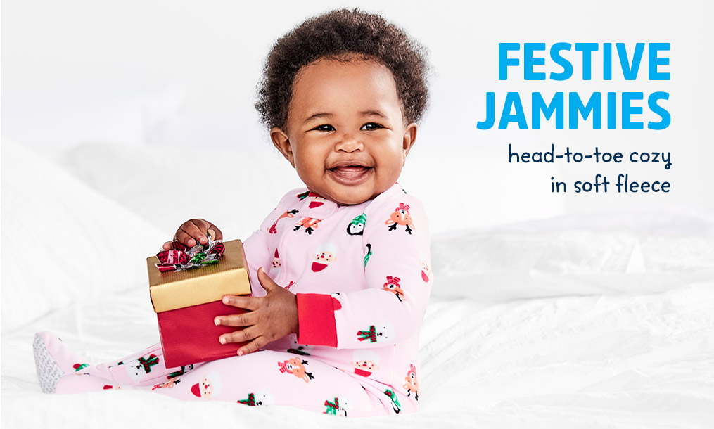 FESTIVE JAMMIES | head-to-toe cozy in soft fleece