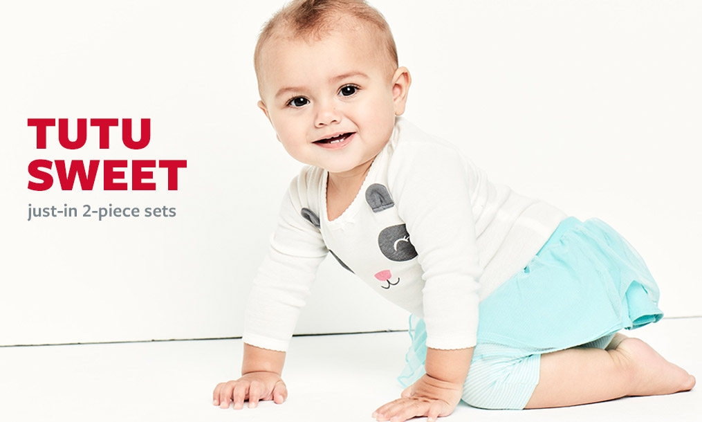 tutu sweet   just-in 2-piece sets