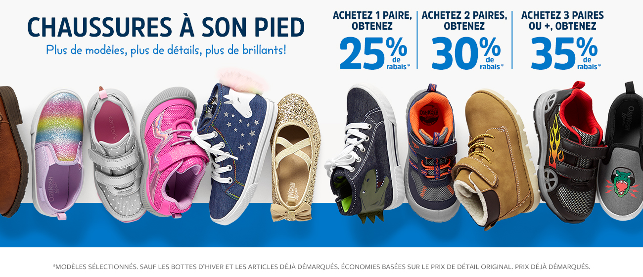 chaussures a son pied