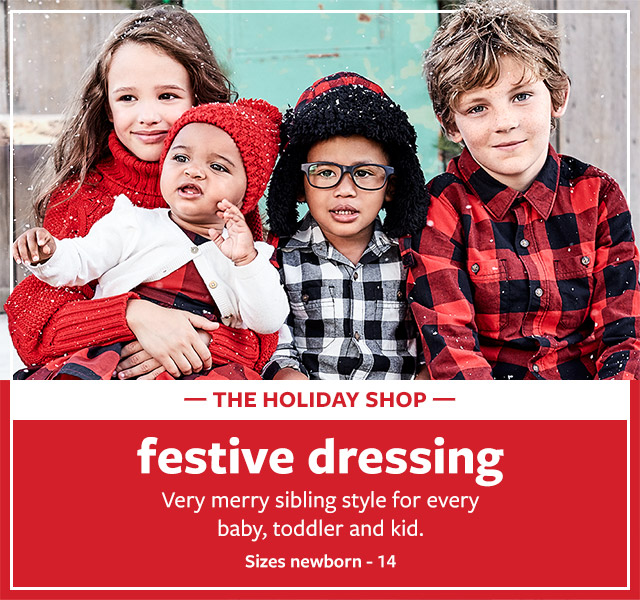 225b55b931886 The Holiday Clothes Shop | Carter's OshKosh Canada
