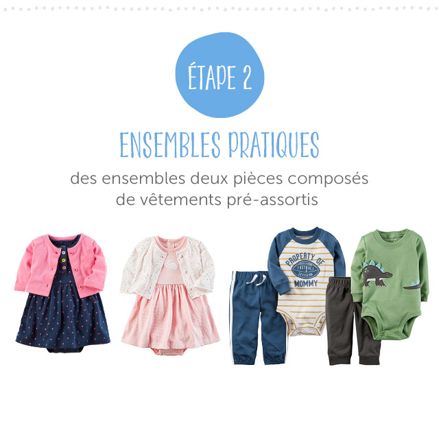 ÉTAPE  2 - Easy Outfit Sets