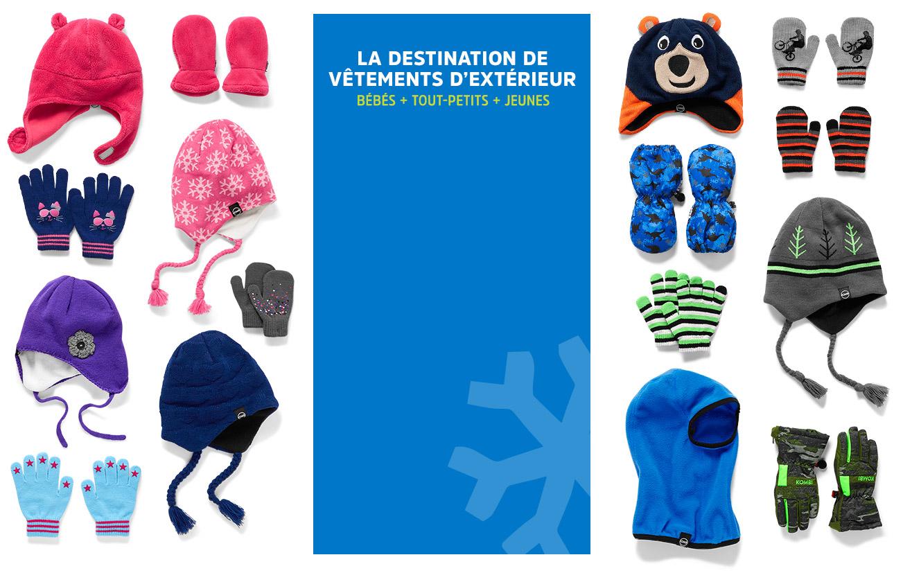 la destination de vêtements d'extérieur   BÉBÉS + TOUT-PETITS + JEUNES   KOMBI (MD), WATERGUARD (MD), ACCU-DRI (MD) et ULTRALOFT (MD) SONT DES MARQUES DÉPOSÉES APPARTENANT À KOMBI SPORTS INC.
