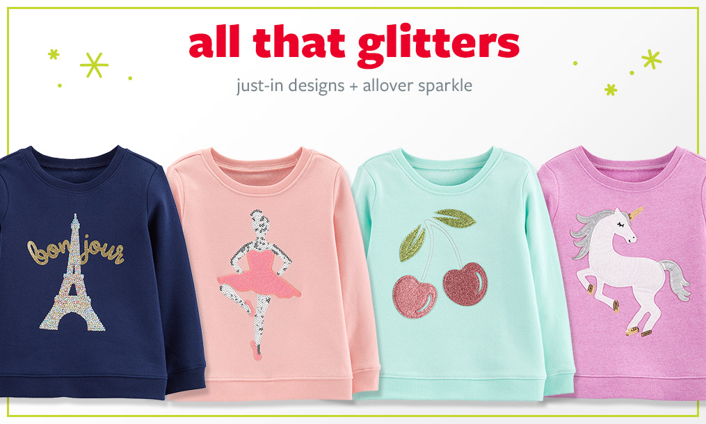 All that glitters | just-in designs + allover sparkle