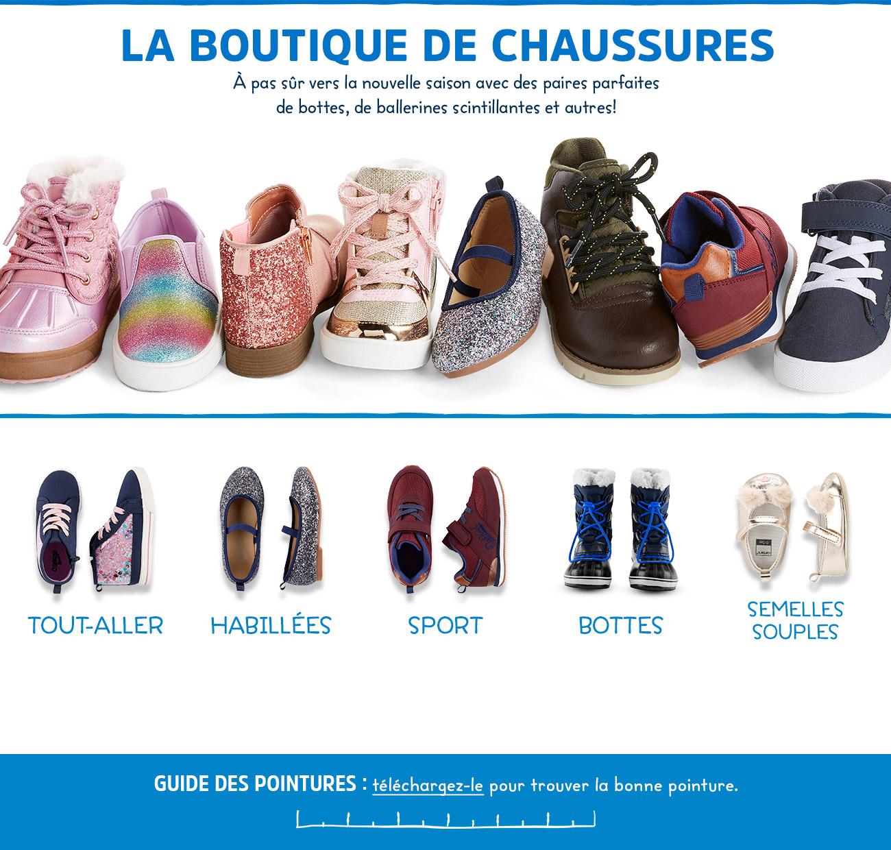 LA BOUTIQUE DE CHAUSSURES | À pas sûr vers la nouvelle saison avec des paires parfaites de bottes, se ballerines scintillantes et autres!