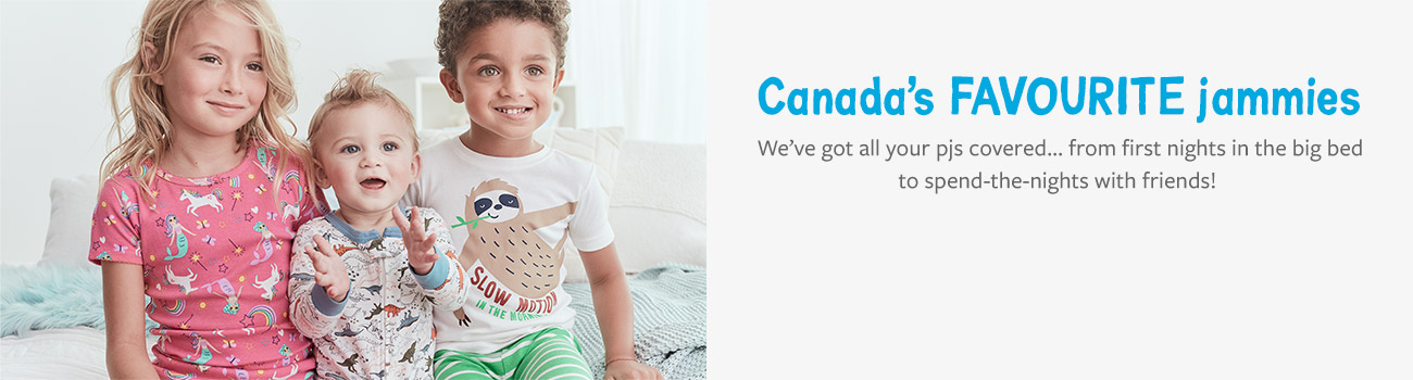 Canada's favourite jammies | check off matching pjs for the whole family-now available online