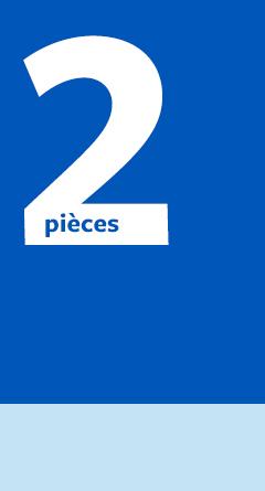2 pièces