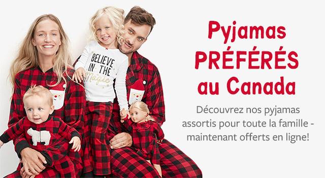 au pays des rêves - les pyjamas préférés au Canada